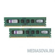 Kingston DDR3 DIMM 16GB (PC3-12800) Kit (2 x 8GB)  1600MHz KVR16N11K2/16