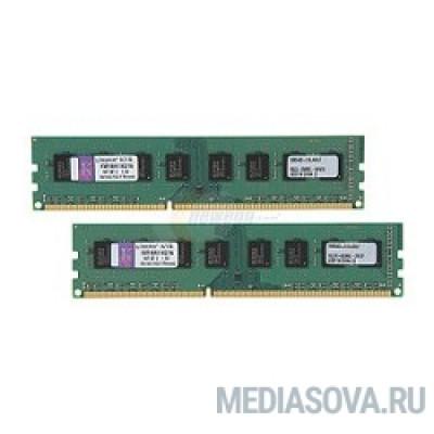 Оперативная память Kingston DDR3 DIMM 16GB (PC3-12800) Kit (2 x 8GB)  1600MHz KVR16N11K2/16