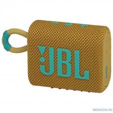 Динамик JBL Портативная акустическая система JBL GO 3 желтая