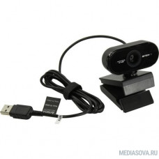 Камера Web A4Tech PK-930HA, черный 2Mpix (1920x1080) USB2.0 с микрофоном [PK-930HA]