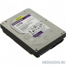 10TB WD Purple (WD102PURX) Serial ATA III, 7200- rpm, 256Mb, 3.5