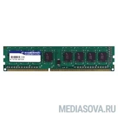Оперативная память Silicon Power DDR3 DIMM 8GB (PC3-12800) 1600MHz SP008GBLTU160N02/N01
