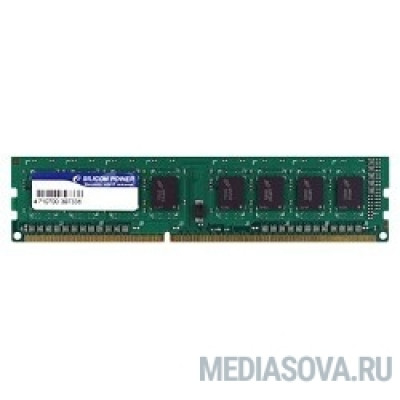 Оперативная память Silicon Power DDR3 DIMM 4GB (PC3-12800) 1600MHz SP004GBLTU160N02/W02