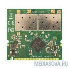MikroTik R52HnD Радиокарта miniPCI, 2x2 MIMO, MMCX, 26 дБм, 2.4/5 ГГц