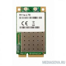 MikroTik R11e-LTE6  2G/3G/4G/LTE Радиокарта miniPCi-e, 2x u.FL, bands 1/2/3/5/7/8/12/17/20/25/26/38/39/40/41n