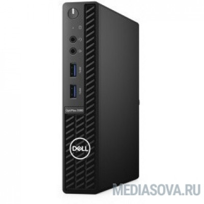 DELL OptiPlex 3080 [3080-6650] Micro i3-10100T/8Gb/256Gb SSD/W10Pro/k+m