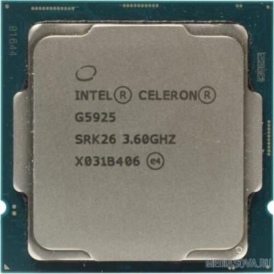 Процессор CPU Intel Celeron G5925 Comet Lake OEM