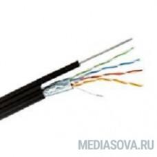 REXANT (01-0144) Кабель FTP CAT5e 4 пары (305м) 0.51 мм OUTDOOR + ТРОС*1