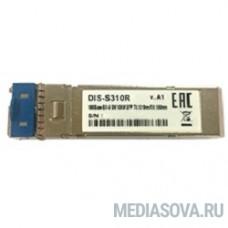 D-Link S310R/10KM/A1A PROJ Промышленный WDM SFP-трансивер с 1 портом 1000Base-BX-U (Tx:1310 нм, Rx:1550 нм) для одномодового оптического кабеля (до 10 км)