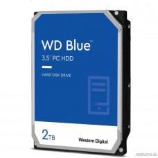 2TB WD Blue (WD20EZBX) Serial ATA III, 7200 rpm, 256Mb buffer