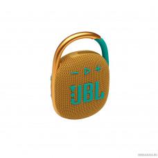 JBL Clip 4 желтый 5W 1.0 BT 15м 500mAh (JBLCLIP4YEL)