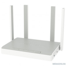 Keenetic Giga SE (KN-2410) AC1300 Маршрутизатор беспроводной 802.11ac 1267Mbps 5 ГГц 2.4 ГГц 4xLAN USB серый белый ADSL2+/VDSL2
