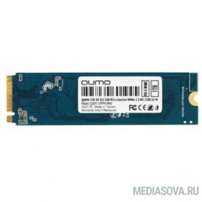 QUMO M.2 SSD 1TB PCIe Gen3x4 NVMe 1.3 Novation Q3DT-1TPPH-NM2