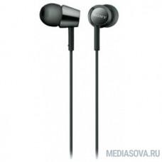 Sony MDR-EX155AP 1.2м черный проводные в ушной раковине (MDREX155APB.E)