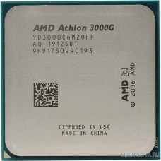 CPU AMD Athlon 3000G (YD3000C6M2OFB) 3.5GHz/100MHz/Radeon Vega 3 OEM